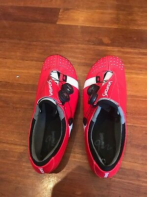 Bont Vaypor S road bike shoes. NO INNERSOLES. Euro 44 (US- 9.5)
