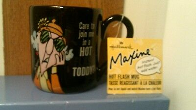 Rare Hallmark Maxine Instant Hot Flash Cup/mug-New W/tag -No Box-Free Shipping