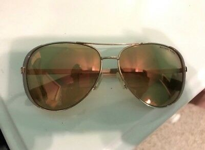 NWT Michael Kors Sunglasses MK 5004 1017R1 Rose Gold/Mirrored Rose Gold 59mm NIB