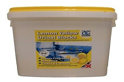 Optimum Cleaning Urinal Channel Blocks - Fresh Lemon scented 3.25kg