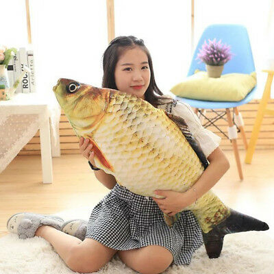 Staffed Soft Animal Fish Plush Toys Pillow Creative Sofa Pillow Cushion Toy Gift