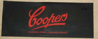 Coopers Australian Made Australian Owned All Rubber Bar Runner - Excellent