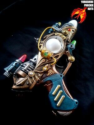 STEAMPUNK Nautilus Ray gun, LED multicoloured lights, sounds, cosplay or display
