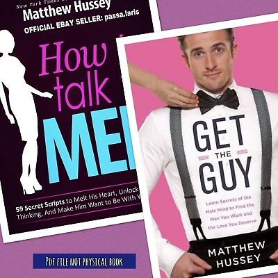 Matthew Hussey - How To Talk To Men ® - Get The Guy ® - 2 In 1 -1rst Ebay Seller