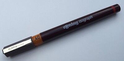 ROTRING ISOGRAPH TECHNICAL DRAWING PEN - 0.4mm 0,4mm NIB SIZE - NEW