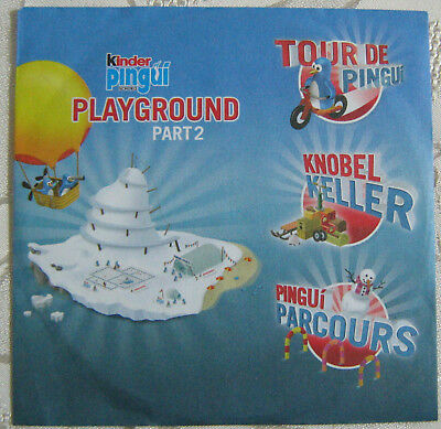 CD-ROM Kinder Pingui PLAYGROUND Part 2 Ferrero