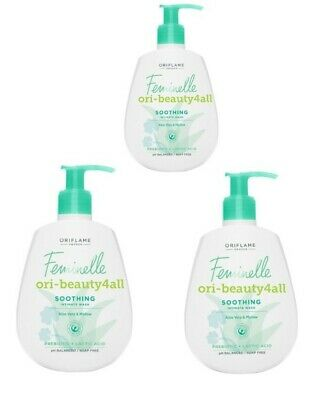 3×Oriflame Feminelle Protecting Intimate Wash, 3×300ml New