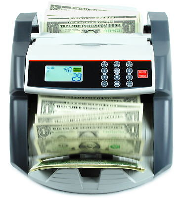 NEW MONEY BILL CASH COUNTER BANK MACHINE COUNT CURRENCY USD DIGITAL UV Ma (