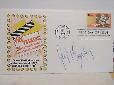 George Kennedy Signed 1st Day Issue JSA - Naked Gun, Andy Griffith, Airplane etc