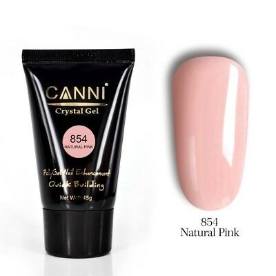 Canni Polygel poly gel quick building nail Gel extend 854 Natural pink(UK seller