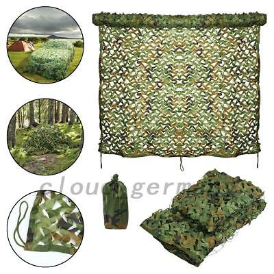 Filet De Camouflage Camo Netting Chasse Camping Photographie Voiture 2x3m /3x4m