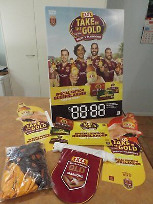 XXXX State of Origin Old Maroons Advertising Items