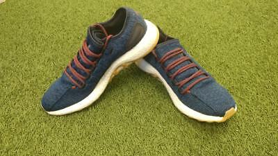 f37f8b0a6 Adidas S42177 Mens Solar Boost Running Shoes Blue  BR17 Athletic Shoes  Clothing
