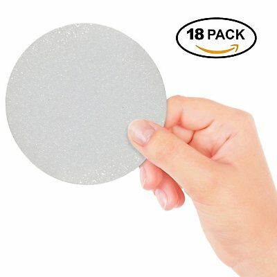 18Pcs Anti Slip Bath Adhesive Stickers Shower Discs Grip Tape Mat Roll Safety