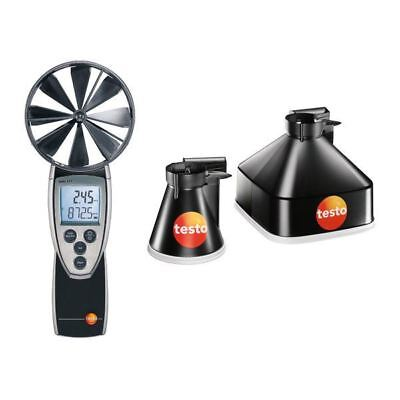 Testo 0563 4171 417 Vane Anemometer (Set 1) (plus Funnel set 0563 4170)