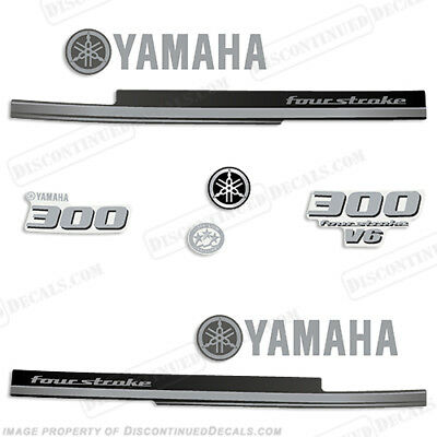 Yamaha 300hp V6 FourStroke Decal Kit - Outboard Engine Decals 300