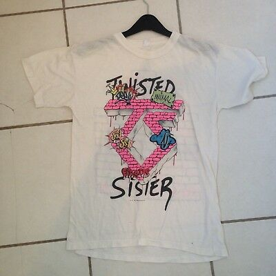 cbba731606e56 TWISTED SISTER VINTAGE Come Out And Play 1986 Tour Tshirt Excellent  Condition