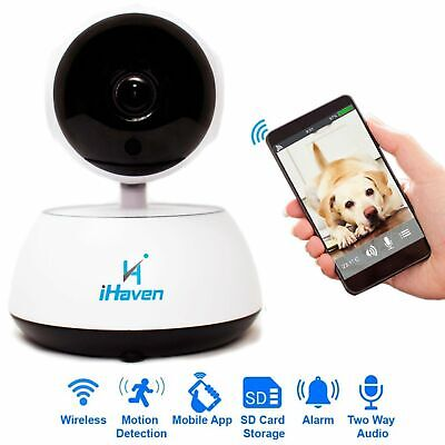 Digital Video Baby Monitor Room Wifi Indoor Wireless Home Security Camera iPhone