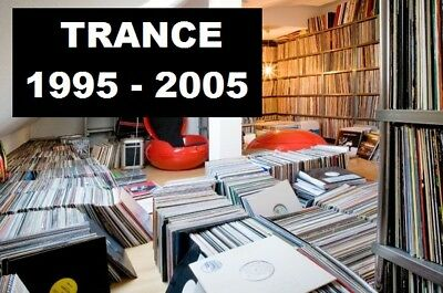 Trance & Hard House 1995 - 2005 Vinyl Record Collection Changed to MP3