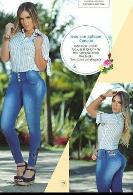 JEANS COLOMBIANOS, Y0080,Authentic Colombian, Push Up Jeans, Jean Levanta Cola