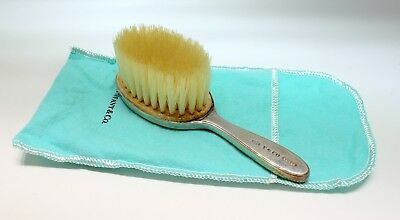 Tiffany & Co  Oval Sterling Silver Baby Hair Brush 1837 Collection