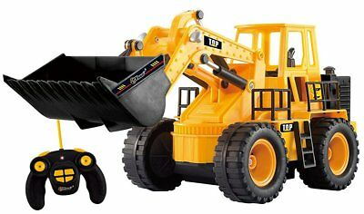 Construction Tractor RC Toy Electric Full Functional Front Loader 5 Channel New