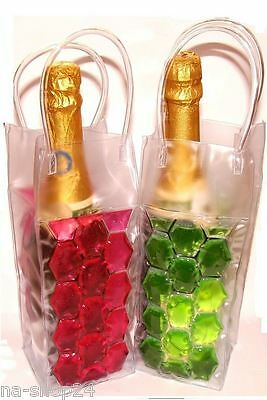 Champagne Cooler with Ice Gel for Freeze Von Joka Bottle Cooler, Wine Drink