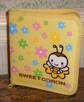 HELLO KITTY Sweetcoron Sweet Coron Toy Sanrio CD DVD Case Holder Zipper
