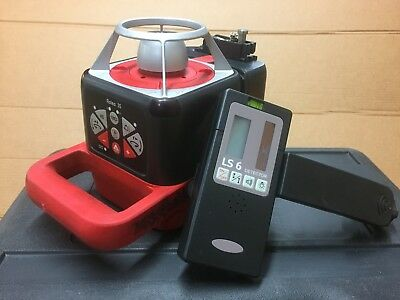 Leica Roteo Rotating Laser Level With Receiver