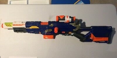 Nerf N-strike Longstrike Modulus Barrel & Scope Working Hasbro