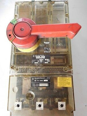 Klöckner Moeller Circuit Breaker Load Break Switch ZM 12-1000