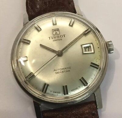 Vintage Gents TISSOT Seastar Automatic - Date - Swiss Made - Fully Serviced