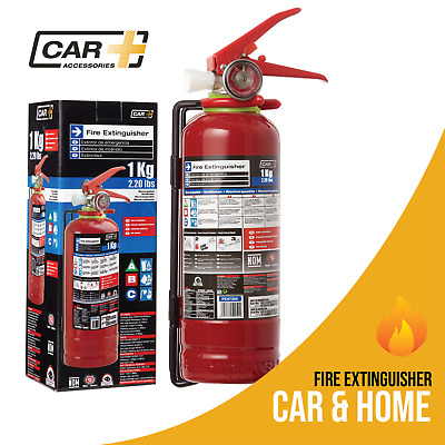 CAR+ Fire Extinguisher 2.2 lb. Capacity  Dry Powder Safety Portable