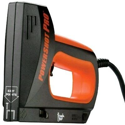 NEW Arrow Fastener 9100K PowerShot Pro Professional Electric Staple and Nail Gun