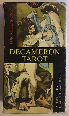 Decameron Tarot Card Deck Artwork by Giacinto Gaudenzi Adult Divination
