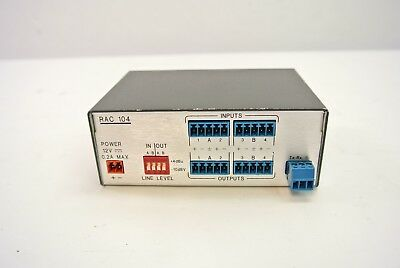 Extron RAC104 Serial Volume and Tone Controller with Power Supply