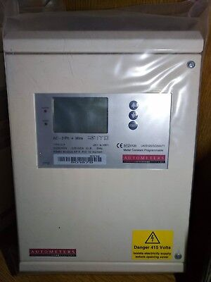 Autometers IC-5 AC 3 Phase 4 Wire Electricity Meter