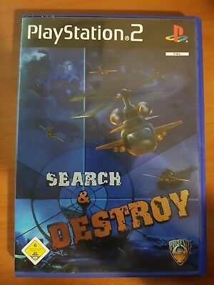 Search & Destroy - Playstation 2 Ps2 Usato