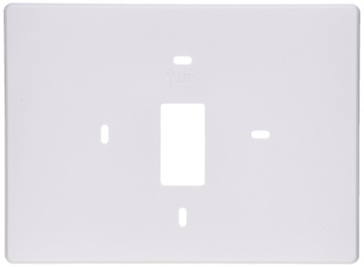 PRO1 IAQ T119 Thermostat Wall Plate, White