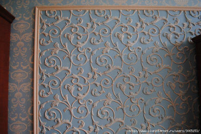 LILY - Quality Plastic Press Mold making of 3d Panels Decor Wall from Gypsum