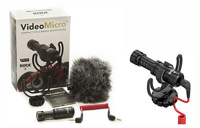 Brand New Rode VideoMicro Compact On-Camera Microphone  23657