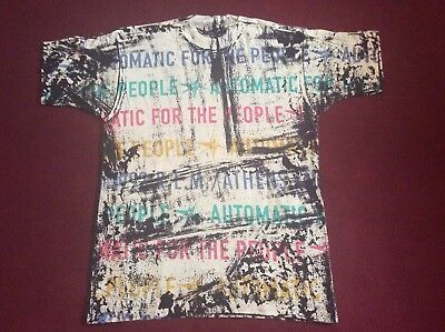 R.E.M. Original 1992 T Shirt Automatic For The People L Or  XL REM NEW OLD STOCK