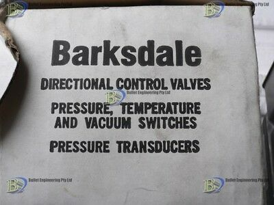 Barksdale D1T-H18Ss .4-18Psi Pressure Or Vacuum Switch