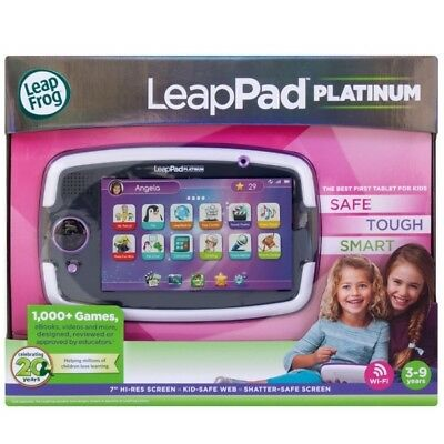 LeapFrog LeapPad Platinum Kids Learning Tablet  7 Inch Purple Free Express Post!