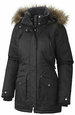 Columbia Barlow Pass 550 TurboDown Jacket, Womens, Black, XS