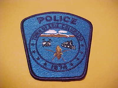 Town Of Erie Colorado  Police Patch Shoulder Size New