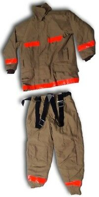 TEIJINCONEX  EMU-FIGHTER firefighter suit protective clothing apparel size LL(3)
