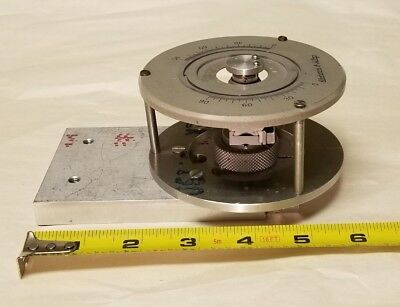 Electronics & Alloys Miniature Multi-Axis Rotation Goniometer Stage