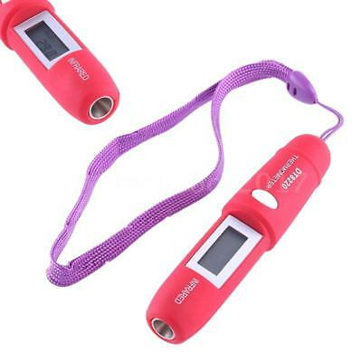2 PCS Mini Pen Type Non-Contact Infrared IR Digital LCD Thermometer G2A0