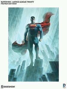 Sideshow Collectibles Premium Art Print DC Superman Limited Edition